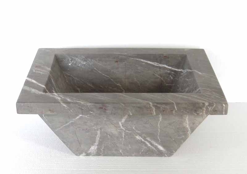 Rectangular Marble Sink | Rectangular Marble Vanity Sink - Arista