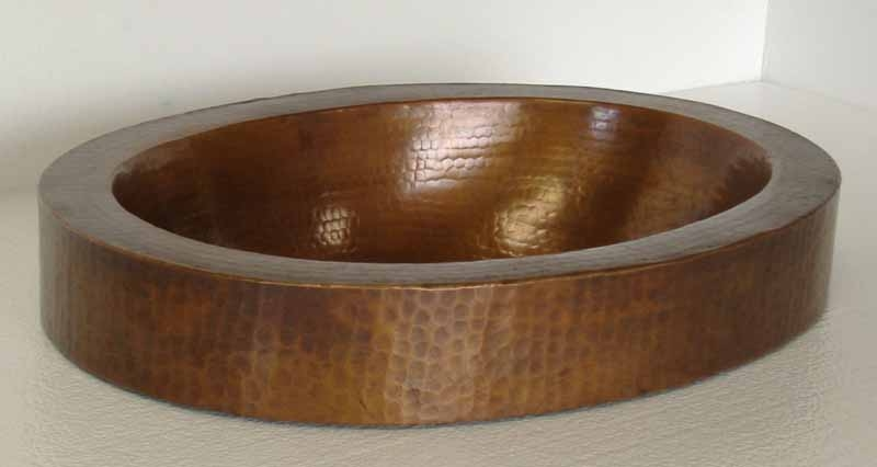 Oval Copper Bathtub | Custom Copper Bath Tub - Carmen