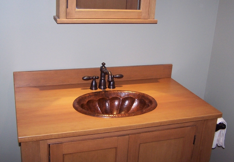 Client Gallery - Oval Bathroom Sink