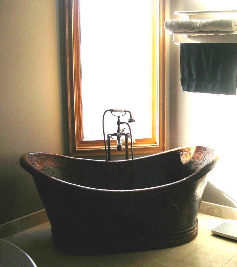 Copper Bathtub | Copper Soaking Tub | Custom Copper Bath Tub