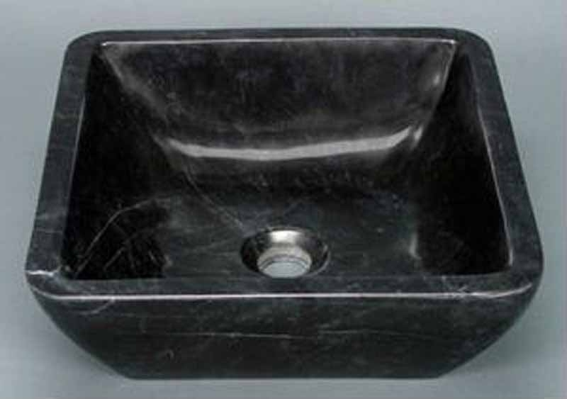 Stone Bar Sink w/Rounded Corners