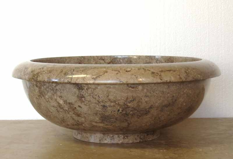 Travertine Sink | Travertine Drop-In Sink | Travertine Vessel Sink - Feliciana