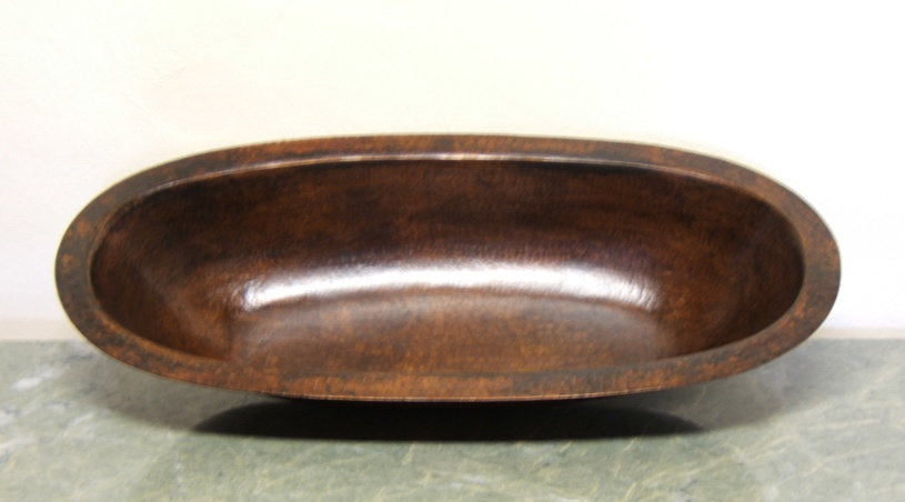 Hammered Copper Bowl - Mercedes