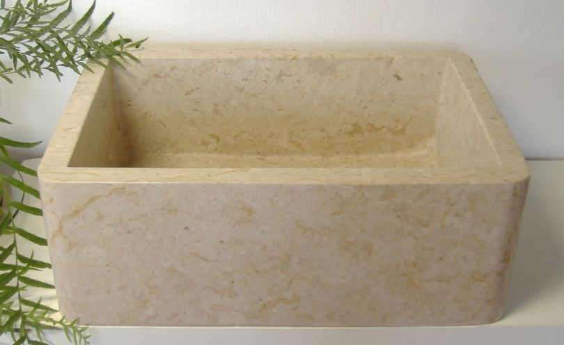 Under Mount Stone Kitchen Sink | Drop-In Stone Kitchen Sink - Olympia