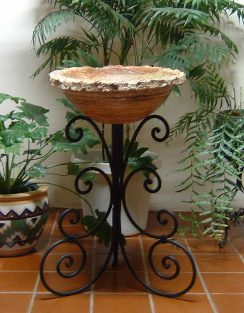 Ornamental Iron Vessel Sink Stand - Polo
