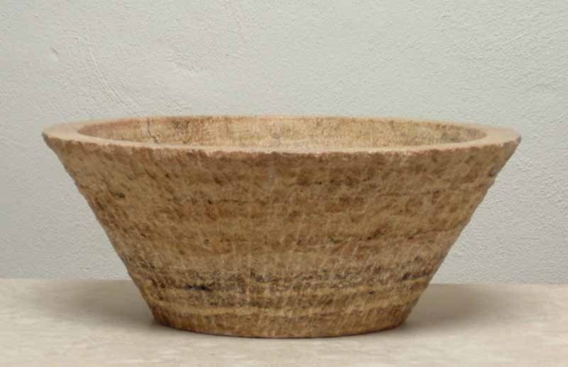 Travertine Vessel Sink - Regina