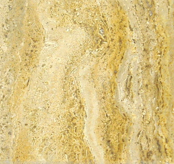 Travertine Color Sample - Amarillo