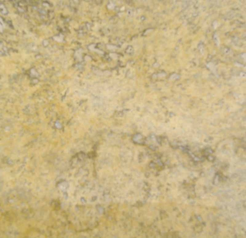 Travertine Floor Tile Color Sample - Bonampak